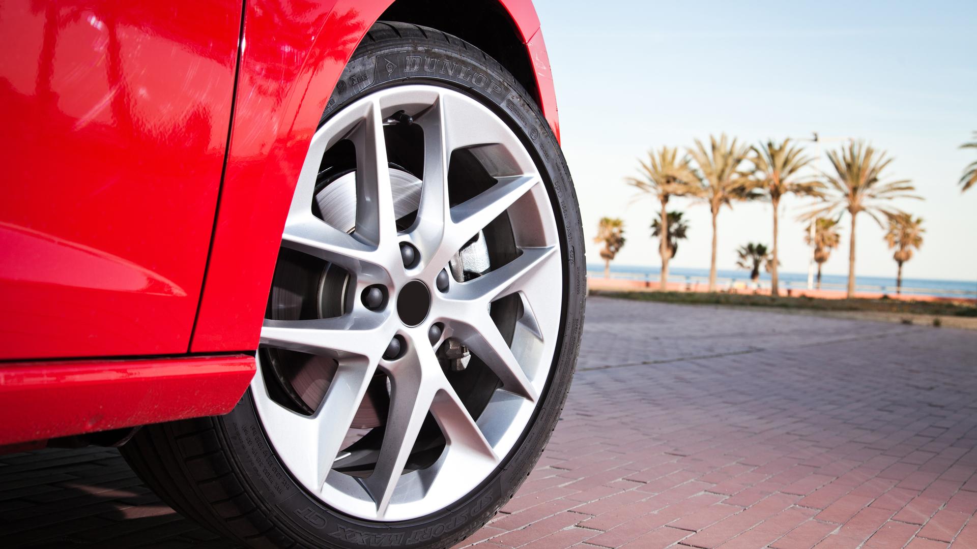 roda do carro mudar tamanho