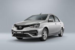 Toyota Etios não emplaca 2022...