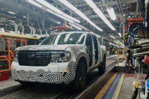 Picape Ford Maverick já está em produção no México