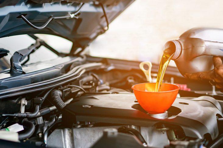 oleo do motor carro diesel gasolina