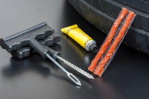 kit reparo pneu run flat shutterstock 435962890