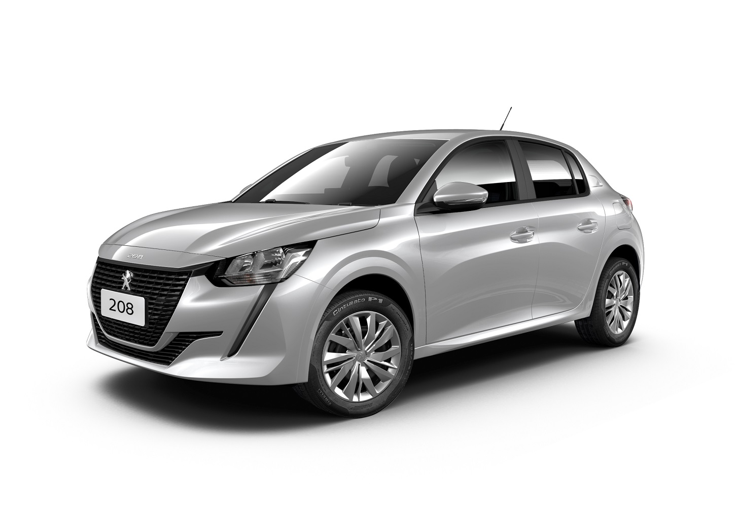 peugeot 208 like pack cinza lateral