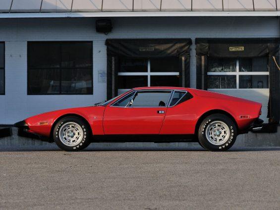 de tomaso pantera 1974 vermelho