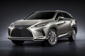 Lexus RX 450h e NX 300h apresentam novidades na linha 2021