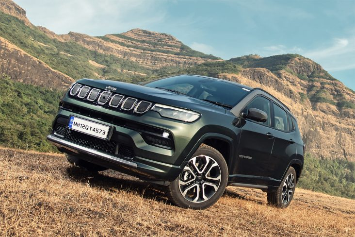 jeep compass 2022 lateral