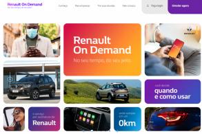 Alugar em vez de comprar? Renault 'On Demand'!