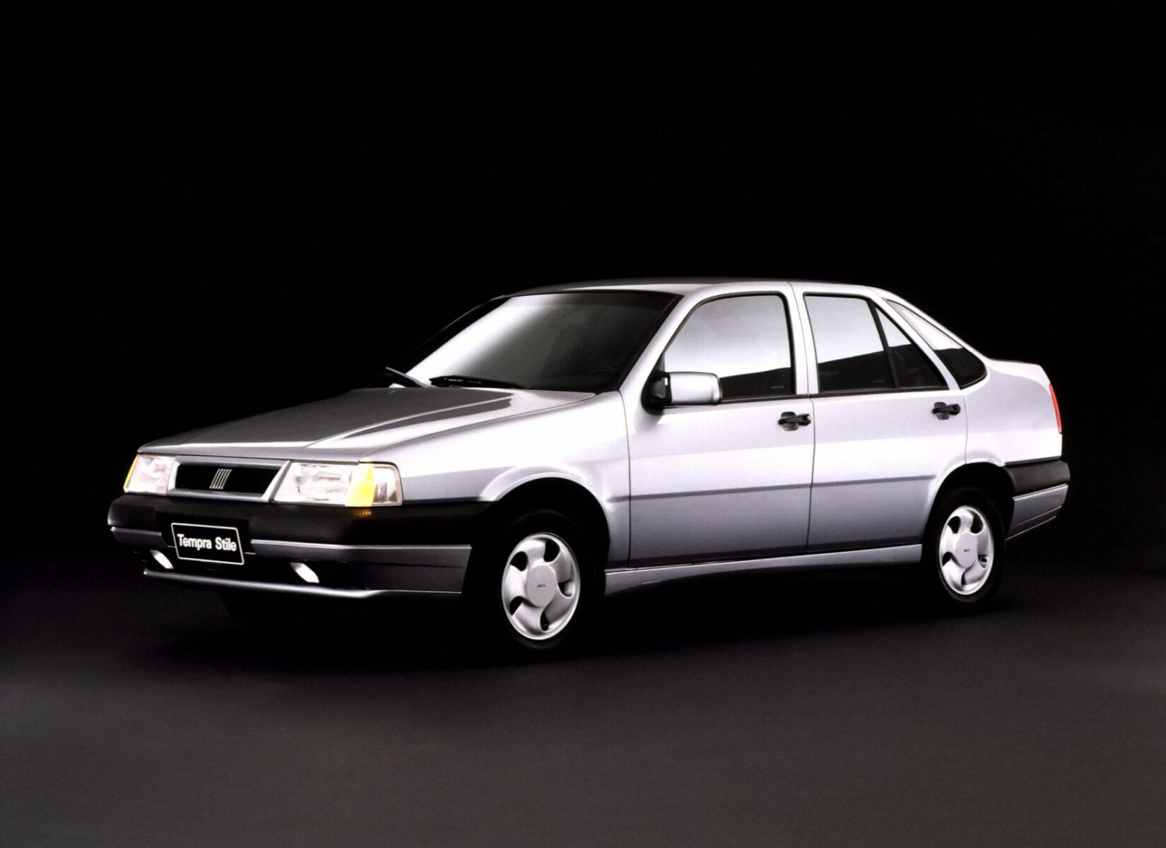 fiat tempra stile turbo 1995 cinza lateral