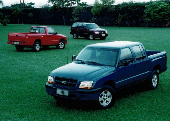 chevrolet s10 linha 2001 cabine simples dupla blazer