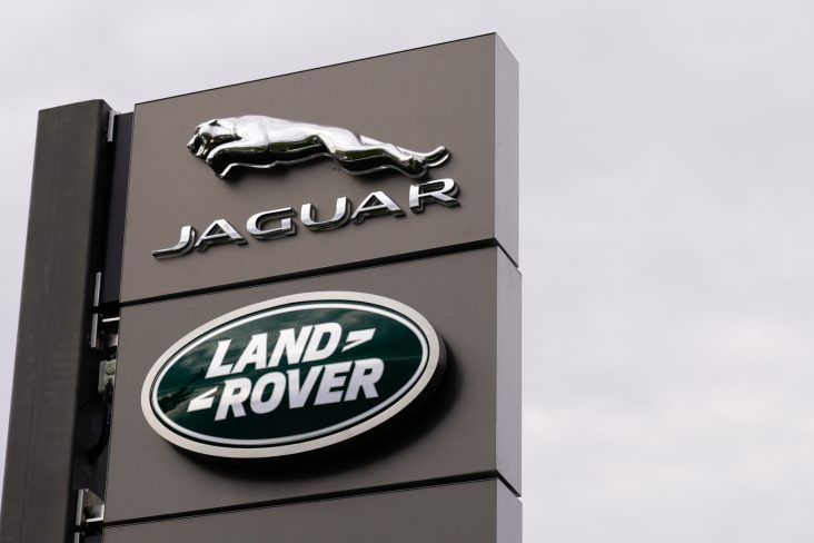 placa marca jaguar land rover carros premium brasil