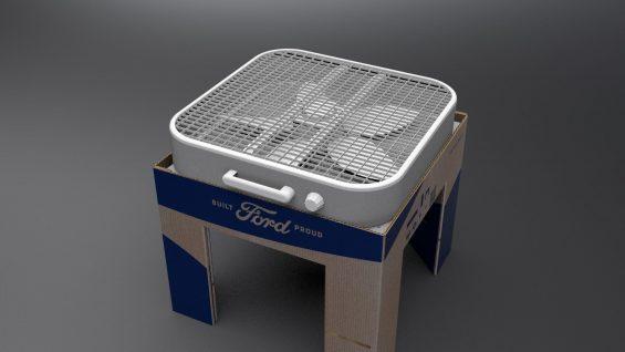 kit de filtragem de ar desenvolvido pela ford