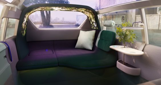 mini vision urbanaut interior