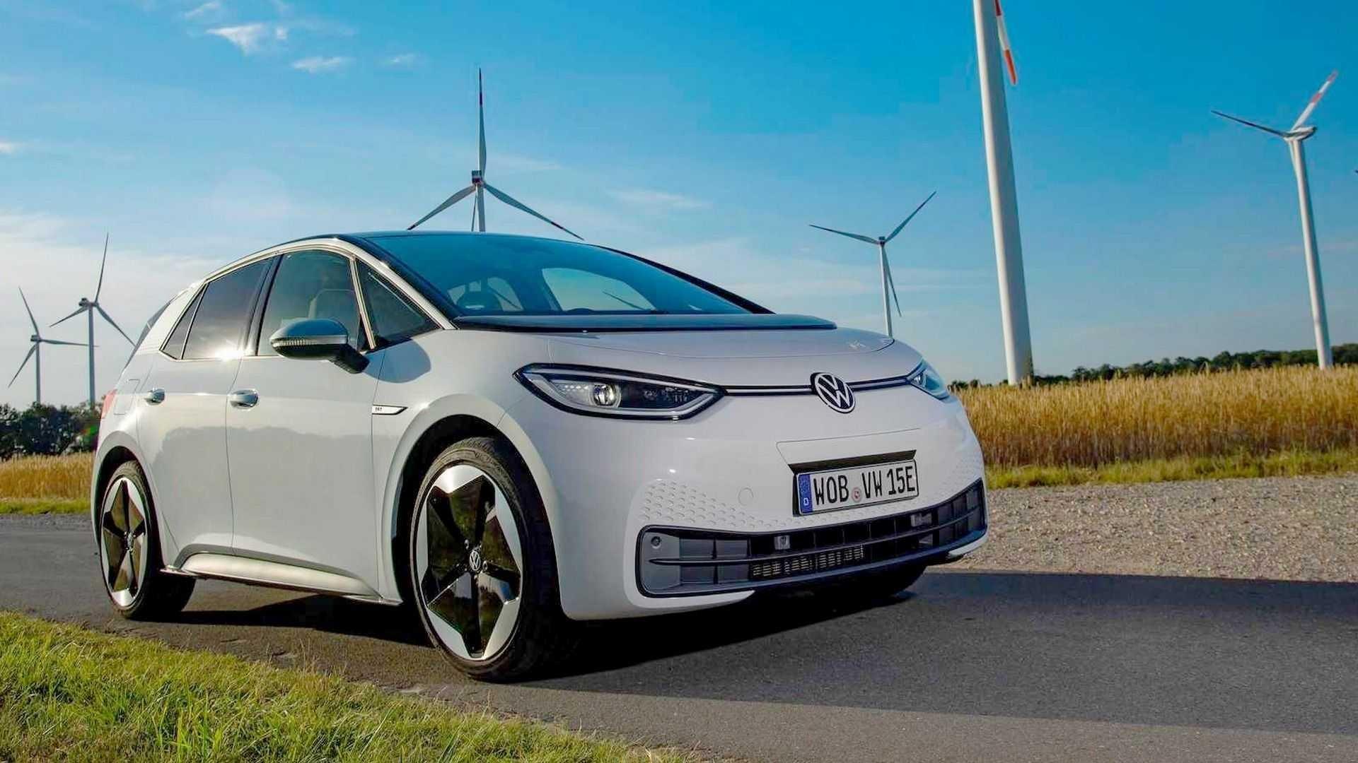 volkswagen id 3 2020 celula a combustivel