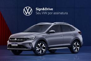 Nivus agora é opção de carro por assinatura Volkswagen