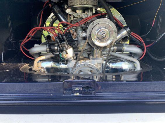 motor de volkswagen kombi 1965 restaurada em 2019