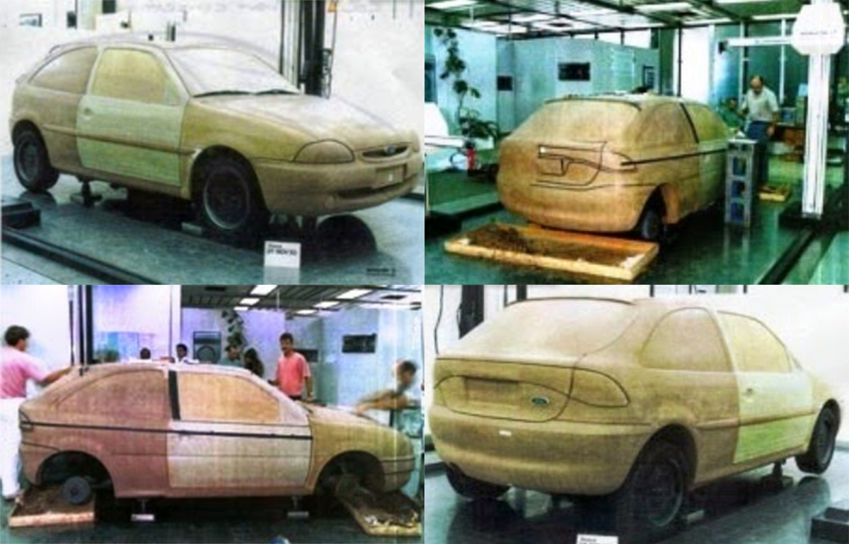 projeto hatch compacto ford autolatina baseado no gol
