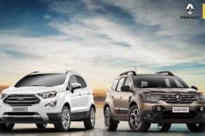 Rival histórico, Renault Duster se despede de EcoSport
