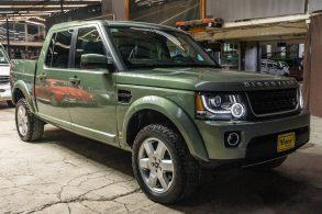 Land Rover Discovery é transformada em picape; veja como ficou