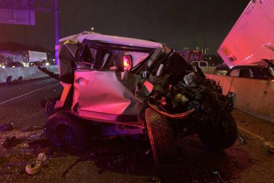 toyota fj cruiser de paramedico engavetamento texas 5