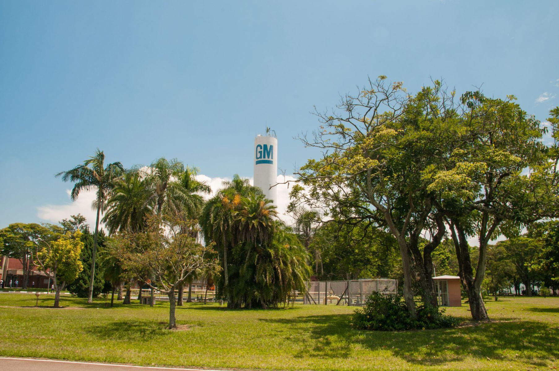imagem da fabrica da gm chevrolet em sao jose dos campos sao paulo brasil