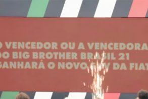 Fiat vai dar novo SUV compacto ao vencedor do Big Brother Brasil