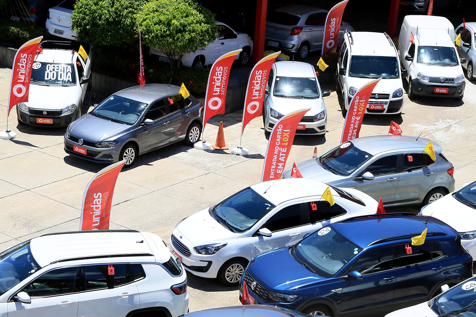 venda de carros usados de locadora foto shutterstock
