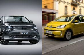 VW up! e Fiat 500 voltarão elétricos