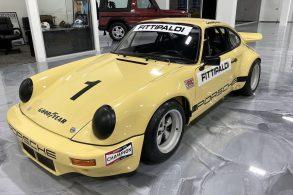 Porsche que foi de Pablo Escobar (e Fittipaldi correu) está à venda