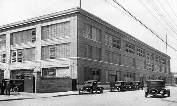 fabrica ford no bairro do bom retiro em sao paulo