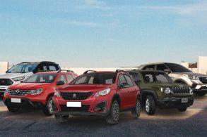 SUVs por menos de R$ 90 mil: só dá para comprar 5 modelos