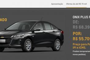 Onix Plus para PcD tem vendas suspensas pela Chevrolet