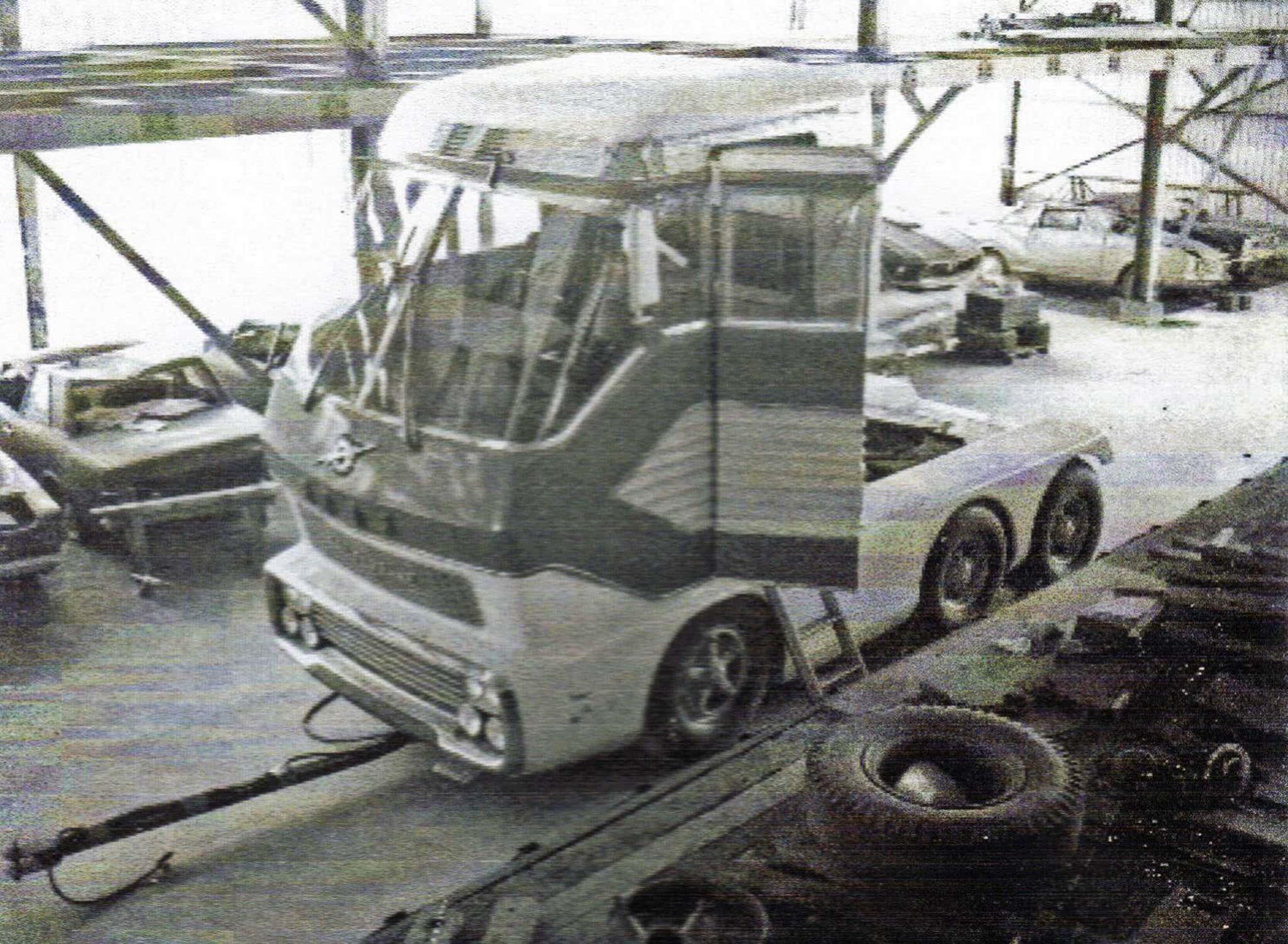 ford mustang big red caminhao motor turbina gas 2