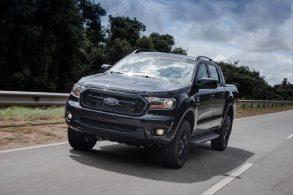 Ranger Black é o primeiro lançamento da Ford após fechamento de fábricas