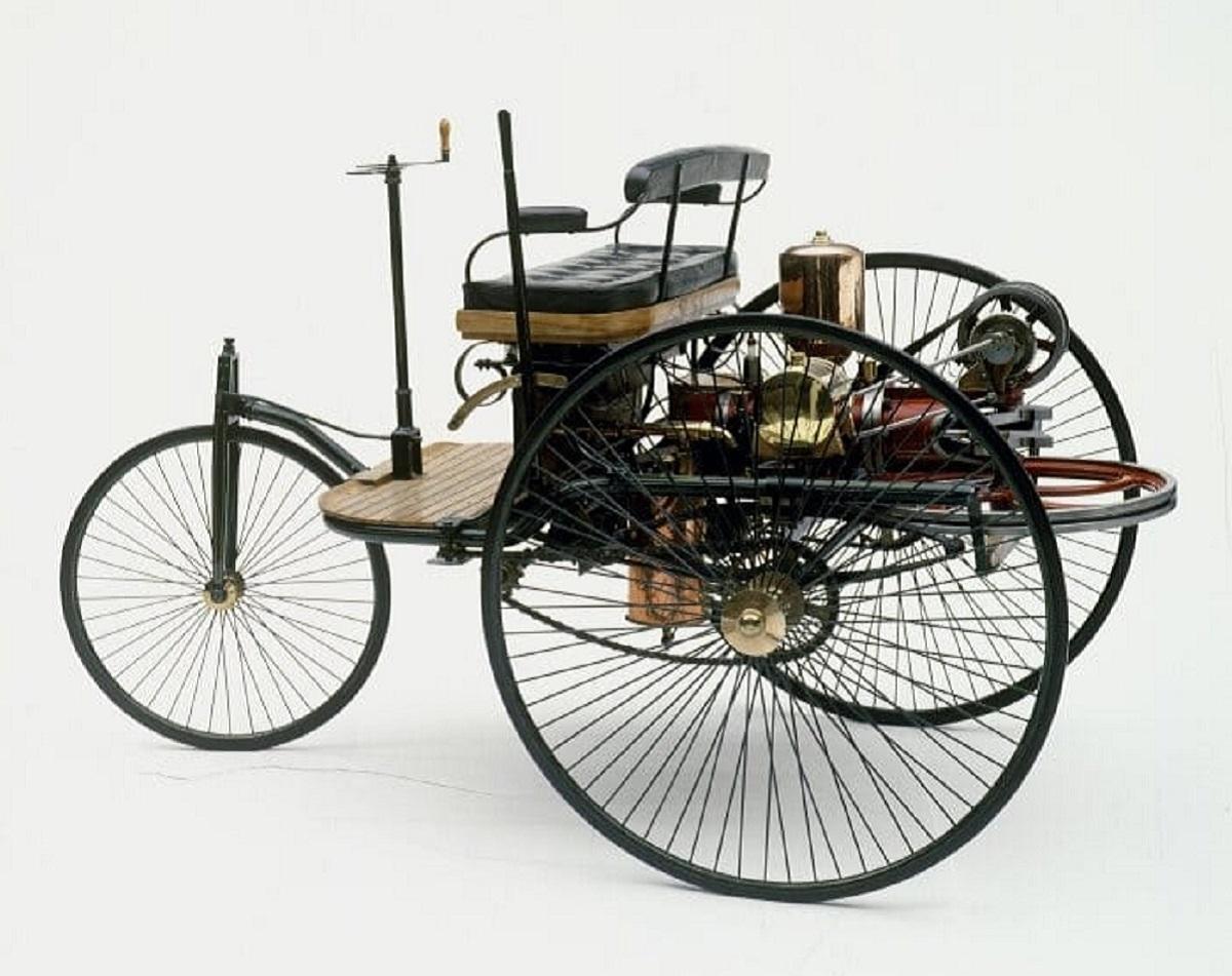benz triciclo patent motorwagen 1