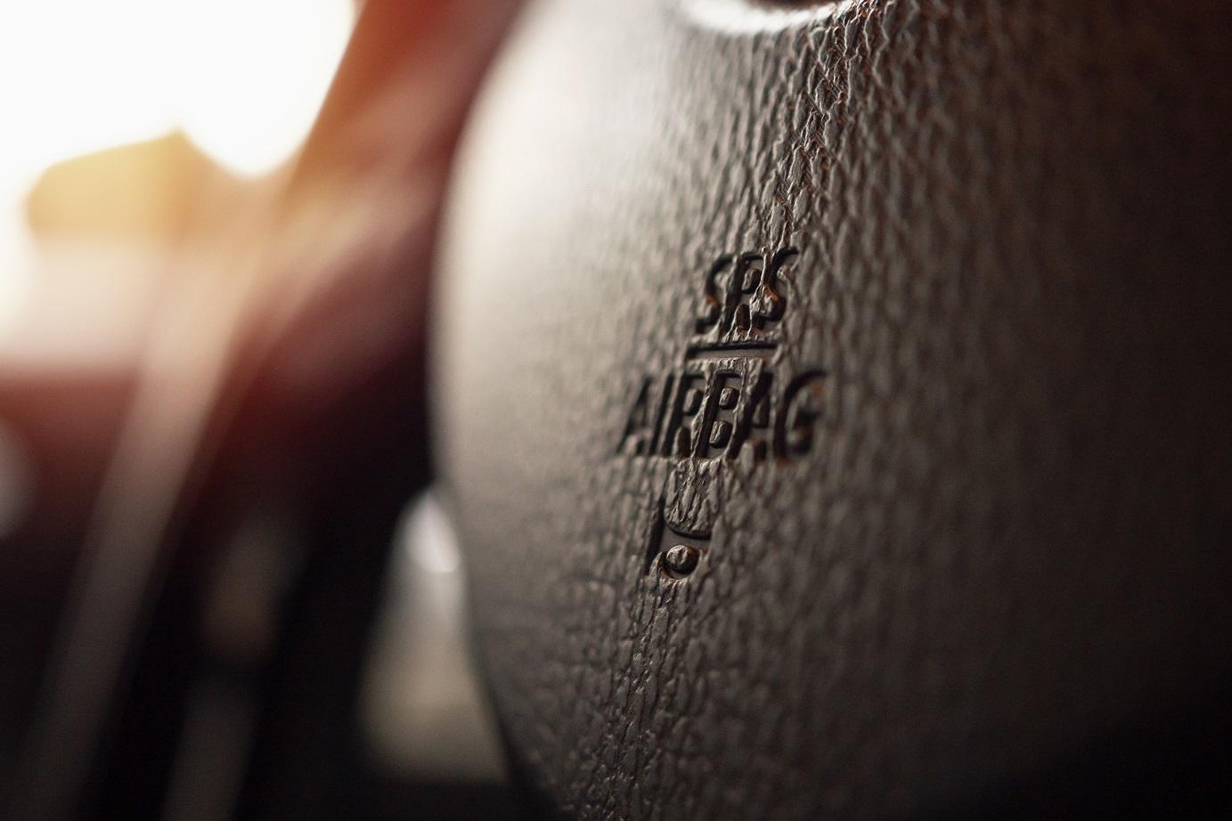 airbag srs para motorista em volante de carro