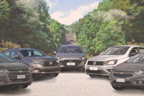 Quanto custariam os 5 carros mais vendidos do Brasil sem impostos?