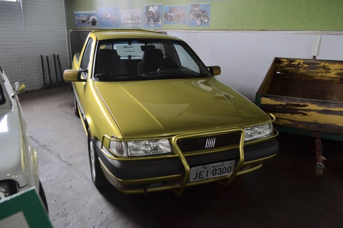 fiat tempra picape prototipo no museu do automovel de brasilia