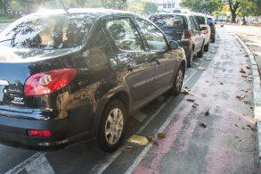 Parar em ciclovia será infração de trânsito passível de multa