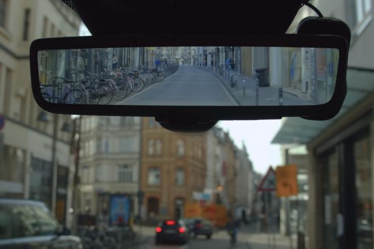 ford transit espelho retrovisor inteligente ponto cego