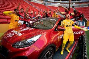 Arrascaeta, do Flamengo, ganha SUV Kia Sportage como prêmio