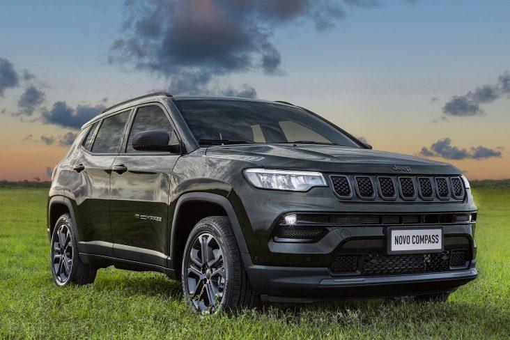 jeep compass 2022 80 anos