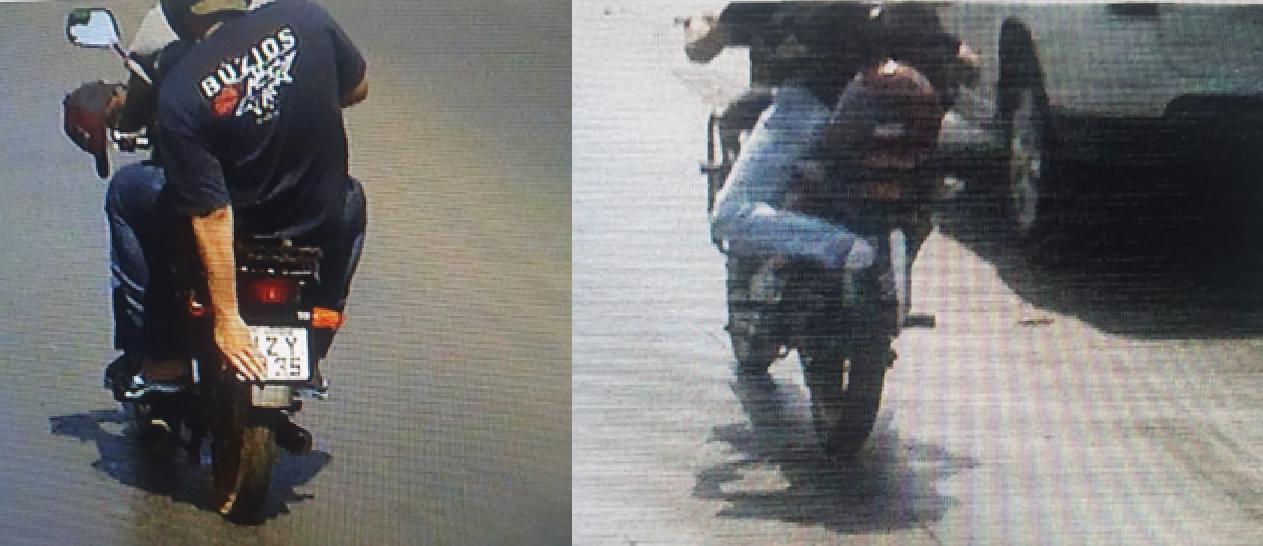 dois motociclistas tampando a placa da moto ao passar por radar foto secretaria de mobilidade urbana de cuiaba semob