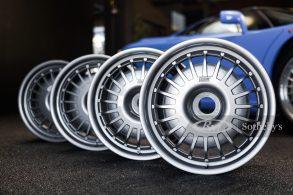 Rodas por R$ 80 mil? Sim, é o preço do jogo BBS de um Bugatti EB 110