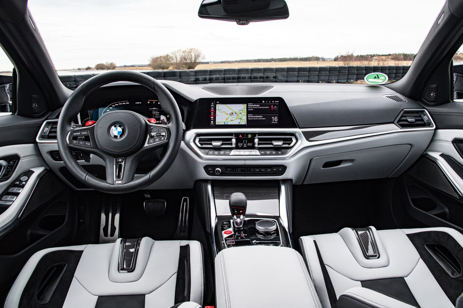 bmw m3 competition interior painel
