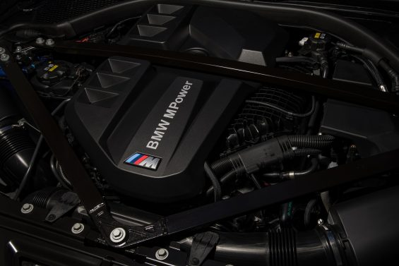 motor seis cilindros do bmw m3 competition