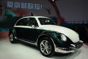 Volkswagen quer banir 'Fusca' elétrico feito por chineses