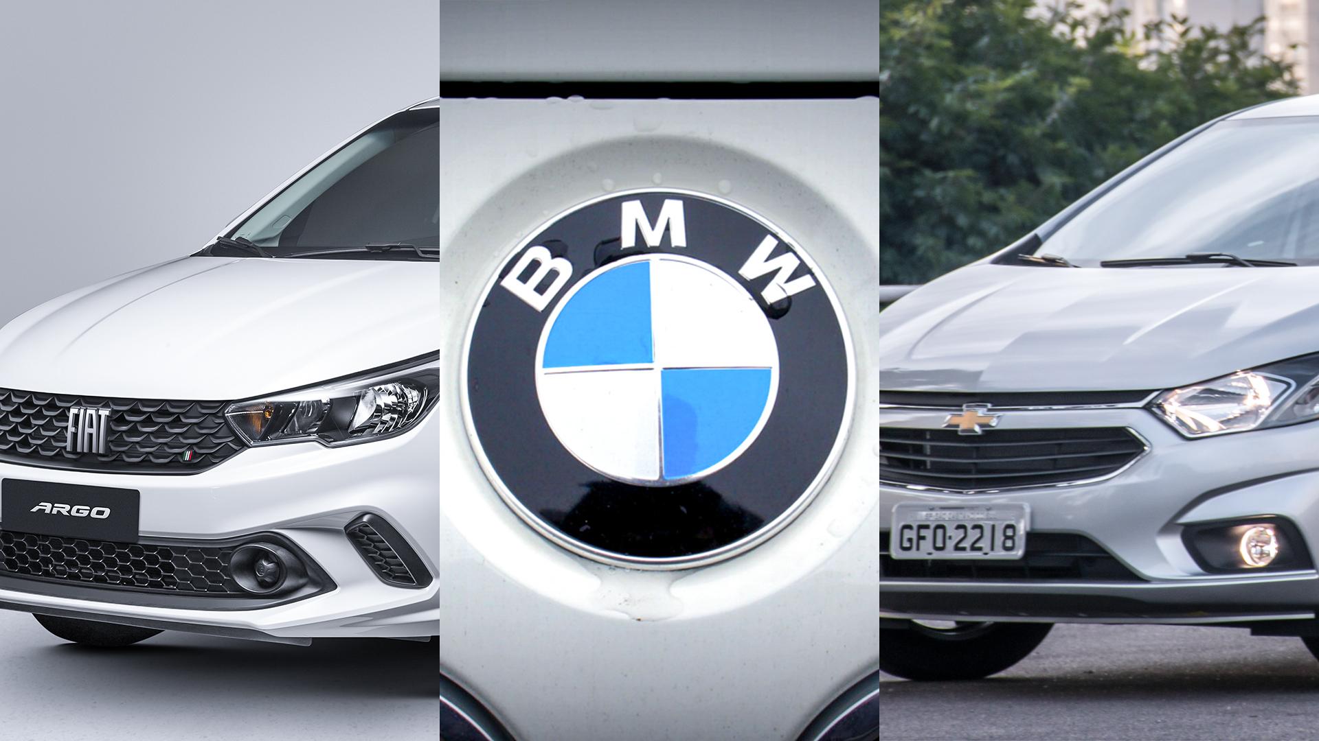 argo bmw onix comprar carro nacional zero km importado usado