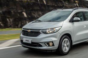 Chevrolet Spin 2022 ganha versão LS com câmbio automático