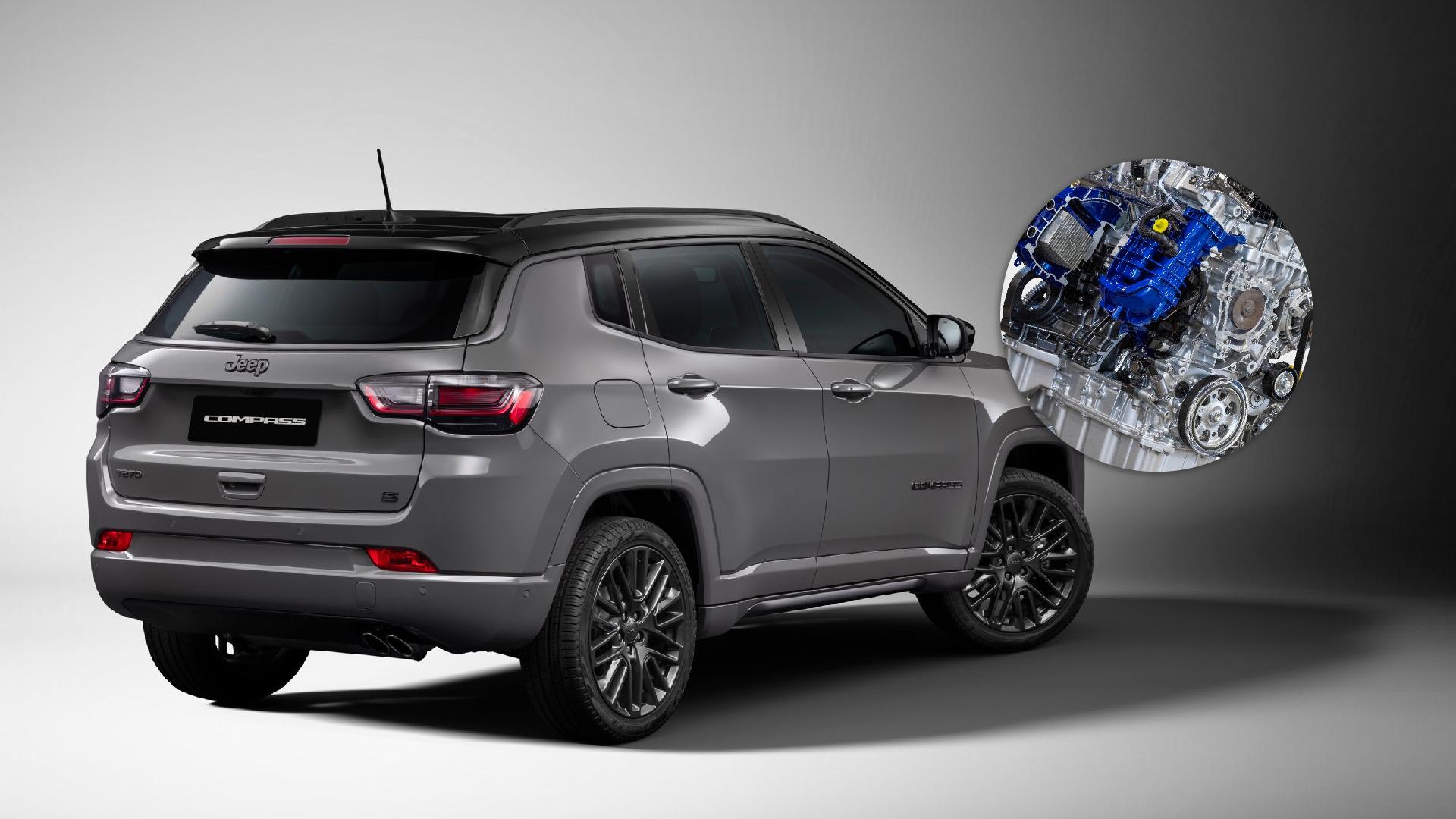 Novo Jeep Compass terá novo motor Firefly com mais potência