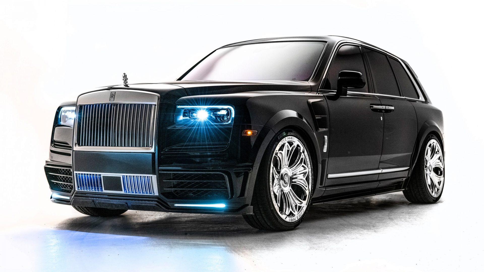 Rolls-Royce Cullinan feito para o Drake