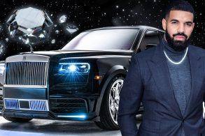 Conheça o Rolls-Royce exclusivo de Drake: é pura extravagância